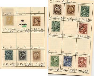 Mexico stamps in circuit  book lot