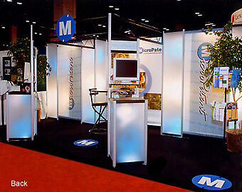 20ft custom modular TRADE SHOW BOOTH EXHIBIT DISPLAY- and MORE AVAILABLE