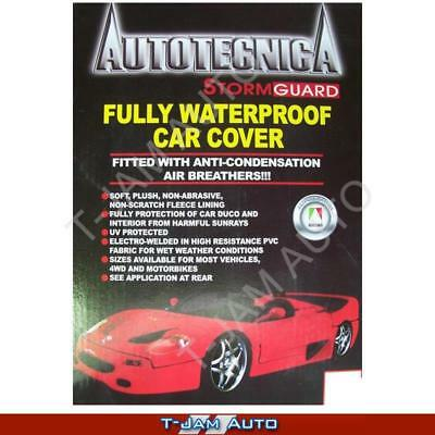 Commodore VE VZ VY Stormguard Car Cover Water Proof Fleece Lined