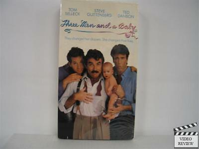 Three Men and a Baby (VHS, 1995) Brand New