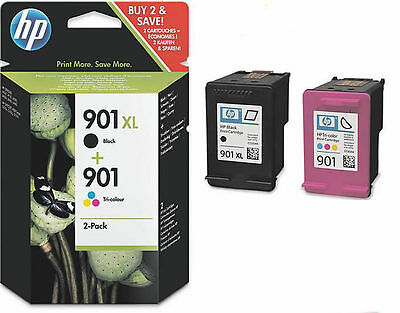 Set HP 901XL ORIGINAL TINTE PATRONEN OFFICEJET4500 J4524 J4535 J4580 g510a g510g