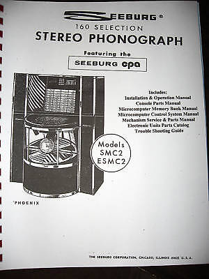 Seeburg Model SMC2 - ESMC2 Phoenix Jukebox Manual