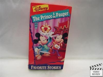 Disney's Favorite Stories- The Prince & the Pauper *VHS