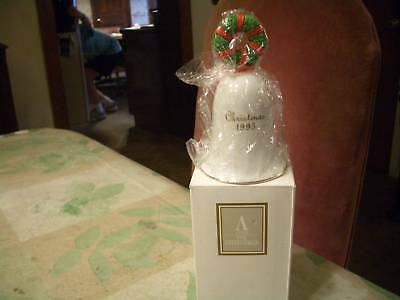 Decorative Glass Avon 1995 Holiday Bell, Mint, Ob!!