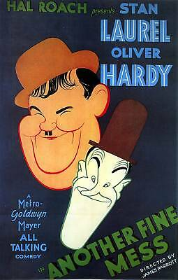 Another Fine Mess - Laurel & Hardy MoviePoster 6.4x10