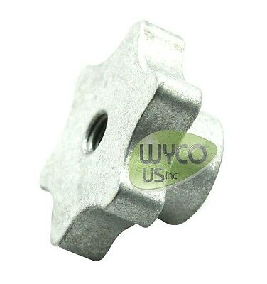 """Aluminum Knob, 3/8""""-16,  Fits Most Squeegees Assemblies And Other Applications"""