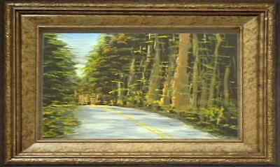 Oil Painting  Lesson Dvd - The Road Through