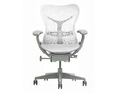 Surprising New Herman Miller Mirra Home Office Chair Alpine White Ocoug Best Dining Table And Chair Ideas Images Ocougorg