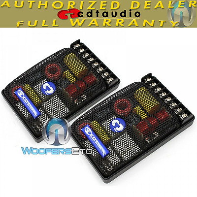 """EX-550i/25 CDT AUDIO 2-WAY COMPONENT MIDS TWEETERS """"OPTIMIZED"""" CROSSOVERS NEW"""
