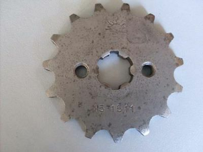 Honda drive front sprocket  SS50 C50 CT70 C70 C100 C102 ATC70 15 teeth H2550
