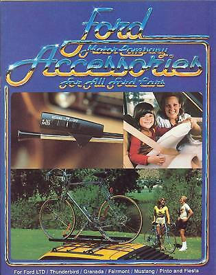 1980 Ford Auto Accessories Brochure Mustang/LTD/T-Bird