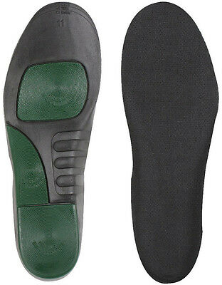 Black Tactical Insoles with Arch Support Comfort Boots, Shoes Inserts Uniform