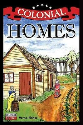 Colonial Homes by Verna Fisher Hardcover Book (English)