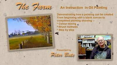 Oil Painting  Lesson Dvd - The Farm