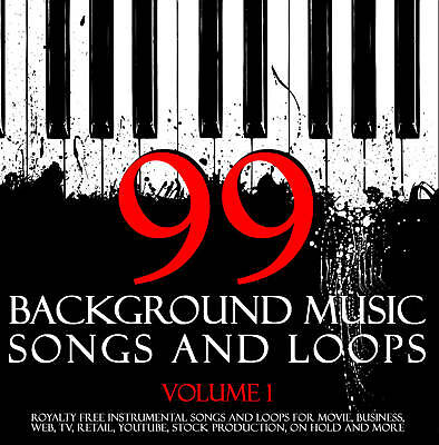 BACKGROUND MUSIC SONGS & LOOPS DVD-ROM. Produce Cool Content.