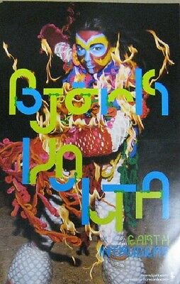 Bjork Volta double sided promo poster New