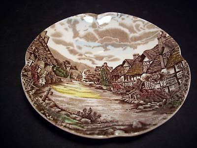 vtg OLDE ENGLISH COUNTRYSIDE ONE SAUCER by JOHNSON BROS