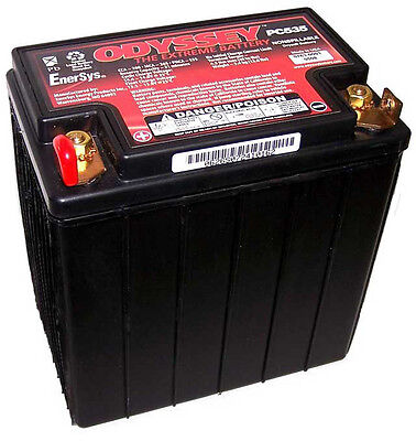 Odyssey PC535 Custom Motorcycle Battery Modified for BMW R1200GS