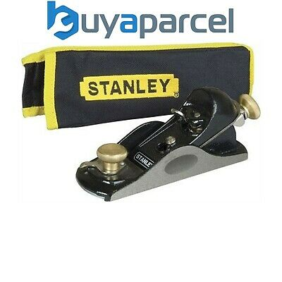 Stanley STA512020 9 1/2 Fully Adjustable Block Plane with Storage Pouch 5-12-020