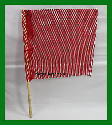 """18/""""x18/"""" Orange QuickMount Replacement Flags For 2300 Quick Release Flag Kit 3"""