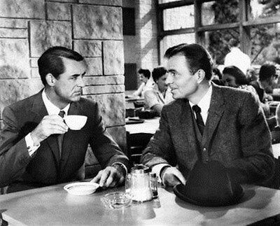 Cary Grant, James Mason North By Northwest 8X10 Photo