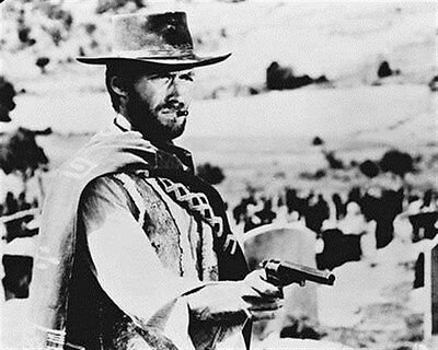 CLINT EASTWOOD AS JOE FROM IL BUONO, IL BRUT 8X10 PHOTO iconic pic 11989