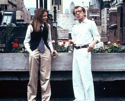 Diane Keaton As Annie Hall, Woody Allen As A 8X10 Photo