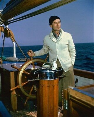 Errol Flynn As Himself From Cruise Of The Za 8X10 Photo