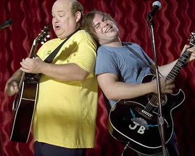 JACK BLACK AS JB, KYLE GASS AS KG FROM TENAC 8X10 PHOTO cool photo 275308