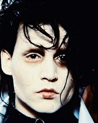 JOHNNY DEPP AS EDWARD SCISSORHANDS FROM EDWA 8X10 PHOTO iconic pic 248101