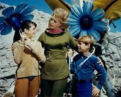 June Lockhart, Bill Mumy, Angela Cartwright  8X10 Photo