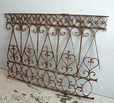 BEST SPANISH WROUGHT IRON DECORATIVE SECTION. L@@k!!!