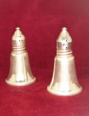 Sterling Silver Weighted Salt And Pepper Shakers