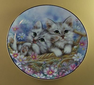 The Joy of Kittens Plate READY TO ROLL Kayomi Cat MIB