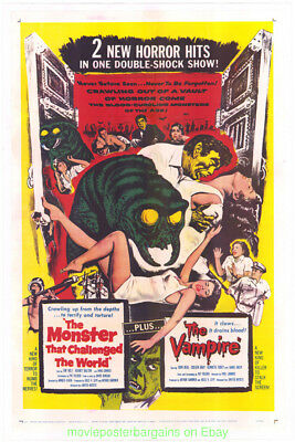 Monster That Challenged The World Movie Poster 1957 Lb