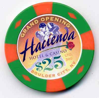 Hacienda Grand Opening  $25  Casino Chip