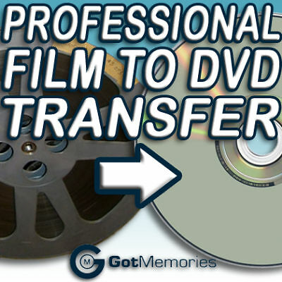 Transfer 1000Ft Of 8Mm, Super 8 Or 16Mm Film To Dvd