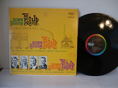 The Four Preps,  Down By The Station, 1960, Capitol Records, T 1291, Mono