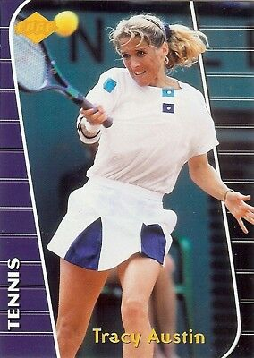 (138) TRACY AUSTIN 2000 EDGE NON-GLOSSY Tennis LOT