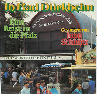 "Jupp SCHMITZ - In Bad Dürkheim / Rare 7 "" Single ! !"