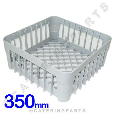 350 X 350 GLASS-WASHER OPEN GLASS CUP RACK SQUARE BASKET 350mm IME OMNIWASH