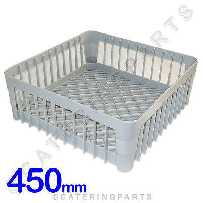450 X 450 Dish-Washer Glass-Washer Open Cup Rack 450Mm Square Plastic Basket Ime