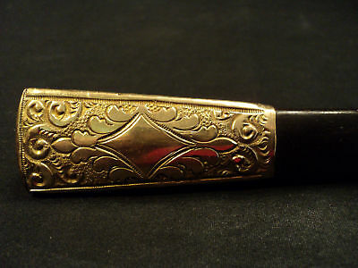 Lovely Victorian Rolled Gold Plate Umbrella Handle