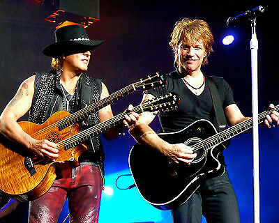 Jon Bon Jovi & Richie Sambora, 8x10 Color Photo