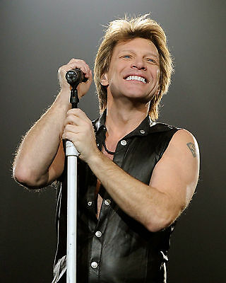 Jon Bon Jovi, 8x10 Color Photo