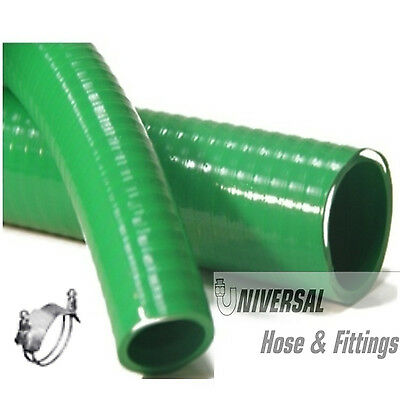 "2"" X 20' Trash Pump Water Suction Hose No Fittings"