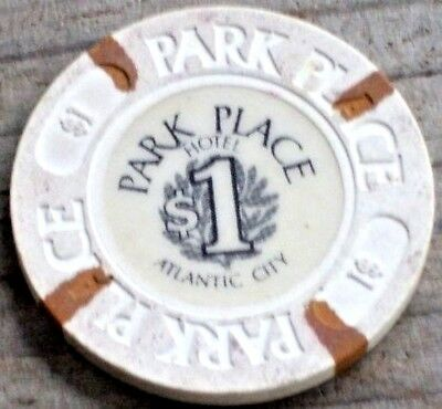 $1 1St Edt (Lbr) Gaming Chip From  Bally's Park Place Casino  Atlantic City