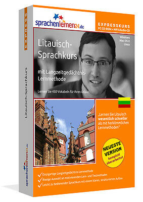 Express Sprachkurs Litauisch m. MP3-CD !