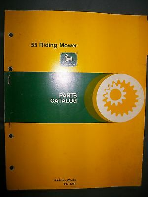 John Deere 21SP 21P Riding Mower 1979 : Parts Catalog
