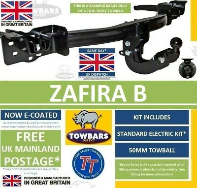 Towbar for Vauxhall  Zafira B MPV 2005 to 2016 Flange Tow Bar Opel TV359